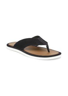 Vince Dean Suede Flat Thong Sandals