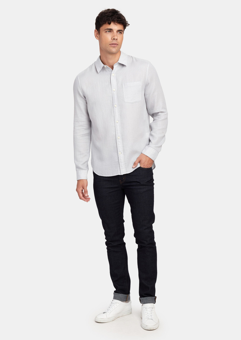 Vince Dobby Double Face Long Sleeve Shirt - XXL - Also in: XL, L, S, XS, M