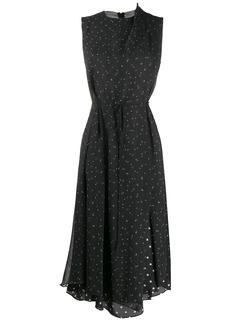 Vince dot-print dress