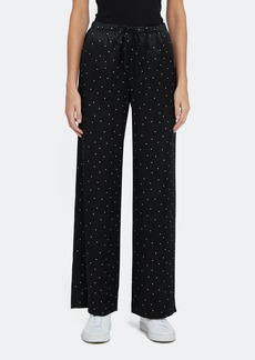 Vince Dot Print Silk Pj Pant - M - Also in: XXS, XS, L