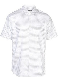 Vince dotted short-sleeve shirt