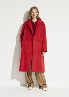 Vince Double Breasted Long Coat