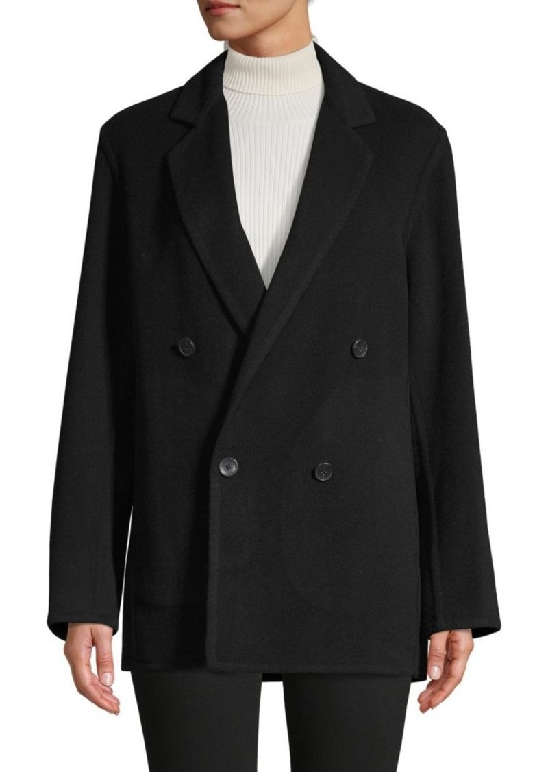 Vince Double-Breasted Pea Coat