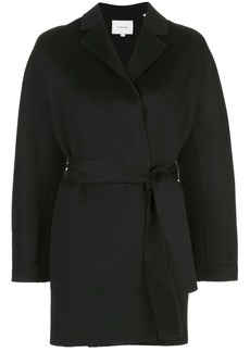 Vince double faced belted jacket