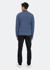 Vince Double Knit Quarter Zip Sweater - XXL