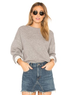 Vince Double Layer Crew Pullover