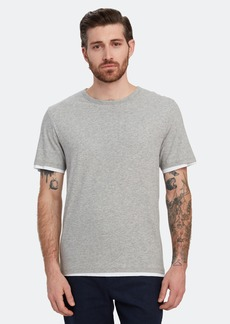 Vince Double Layer Crewneck T-Shirt - M - Also in: XL, S, L, XS