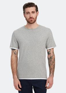 Vince Double Layer Crewneck T-Shirt