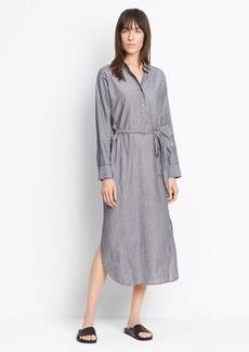 Double Stripe Shirt Dress