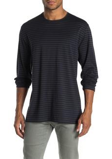 Vince Double Striped Long Sleeve Shirt