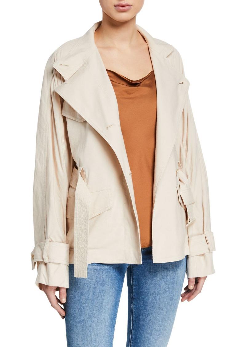 Vince Drapey Linen Jacket