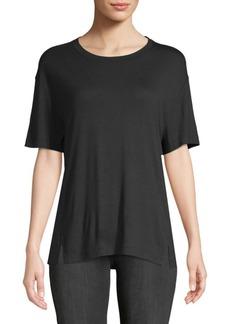 Drapey Short-Sleeve Top