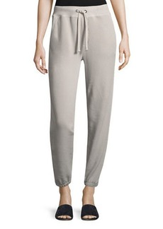 Vince Drawstring Pull-On Cotton Jogger Sweatpants