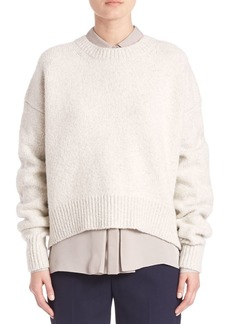 Vince Drop Shoulder Knitted Sweater