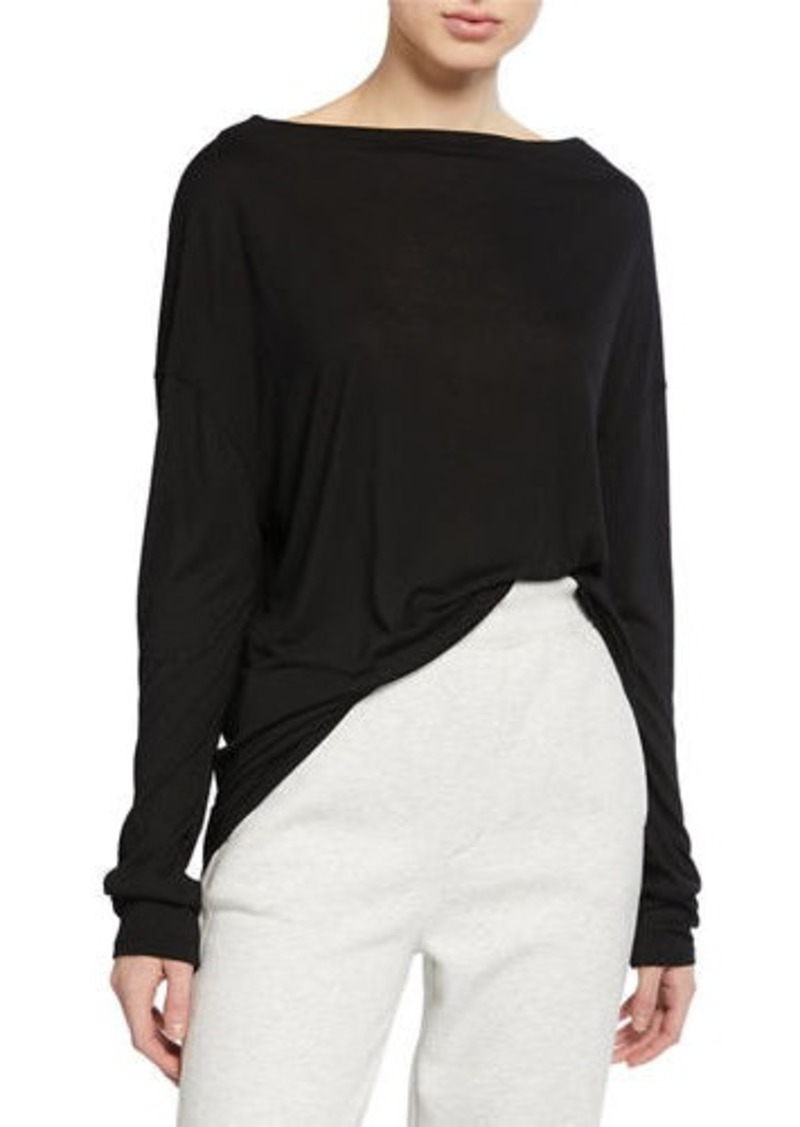Vince Drop-Shoulder Long-Sleeve Tee