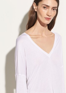 Vince Drop Shoulder V-neck