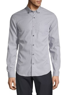 Vince End On End Button-Down Shirt
