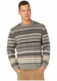 Vince Fair Isle Crew Sweater