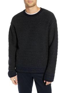 Vince Fair Isle Reversible Yak & Wool Sweater