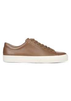 Vince Farrell Leather Platform Sneakers