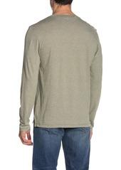 Vince Feeder Stripe Long Sleeve T-Shirt