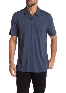 Vince Feeder Stripe Regular Fit Polo