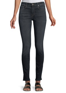 Vince Five-Pocket Mid-Rise Skinny Jeans