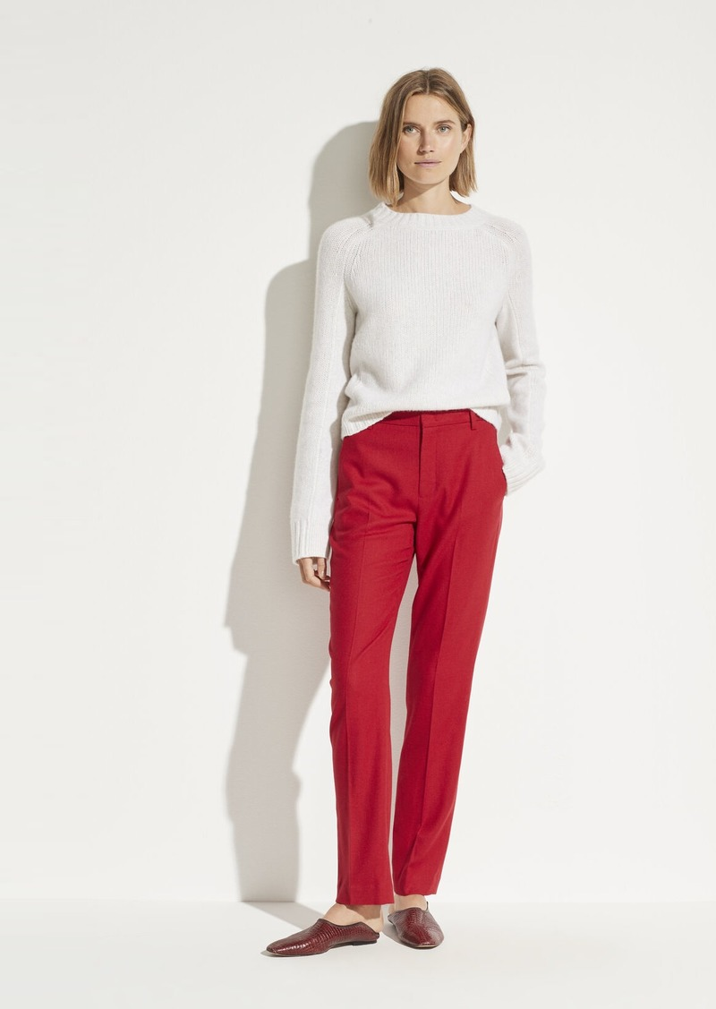 Vince Flannel Tailored Pant