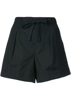 Vince flared front fastened shorts