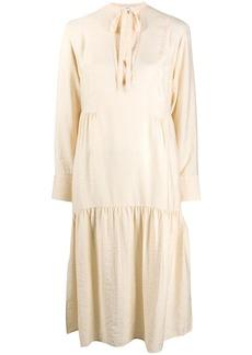Vince flared midi dress