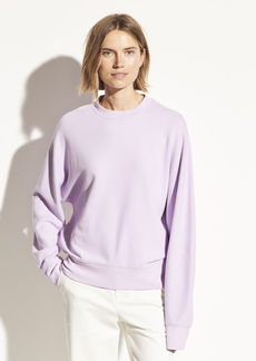 Vince French Terry Dolman Sleeve Pullover