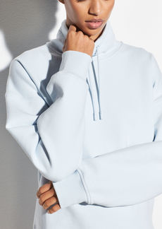 Vince Funnel Neck Pullover Sweatshirt