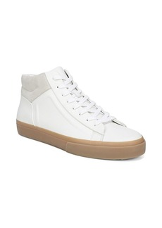 Vince Fynn Leather High-Top Sneakers