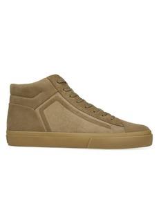 Vince Fynn Suede Mid-Top Sneakers