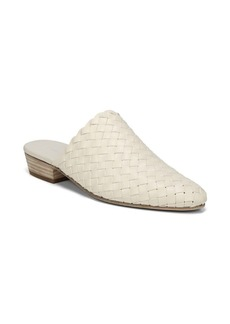 Vince Galena Leather Basket Weave Mules