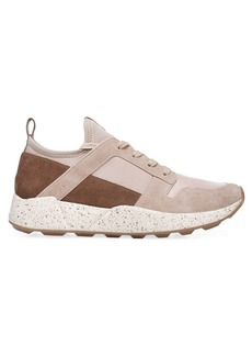 Vince Galvin Chunky Mixed-Media Sneakers