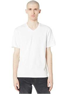 Vince Garment Dye Short Sleeve V-Neck Tee