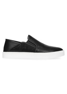 Vince Garvey Leather Sneakers