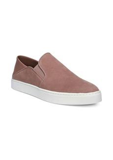 Vince Garvey Suede Slip-On Sneakers