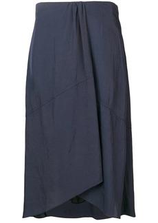 Vince gathered detail skirt