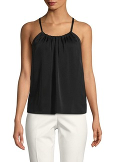 Vince Gathered Scoopneck Cami Top