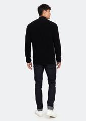 Vince Half Zip Mock Neck Sweater - S