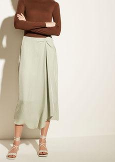 Vince Handkerchief Drape Skirt