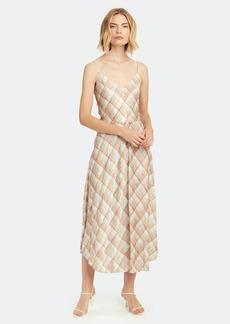 Vince Hazy Plaid Midi Cami Dress - M - Also in: S, XXS, L, XL