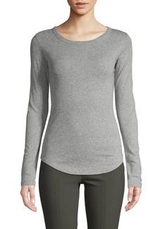 Vince Heathered Long Sleeve T-Shirt