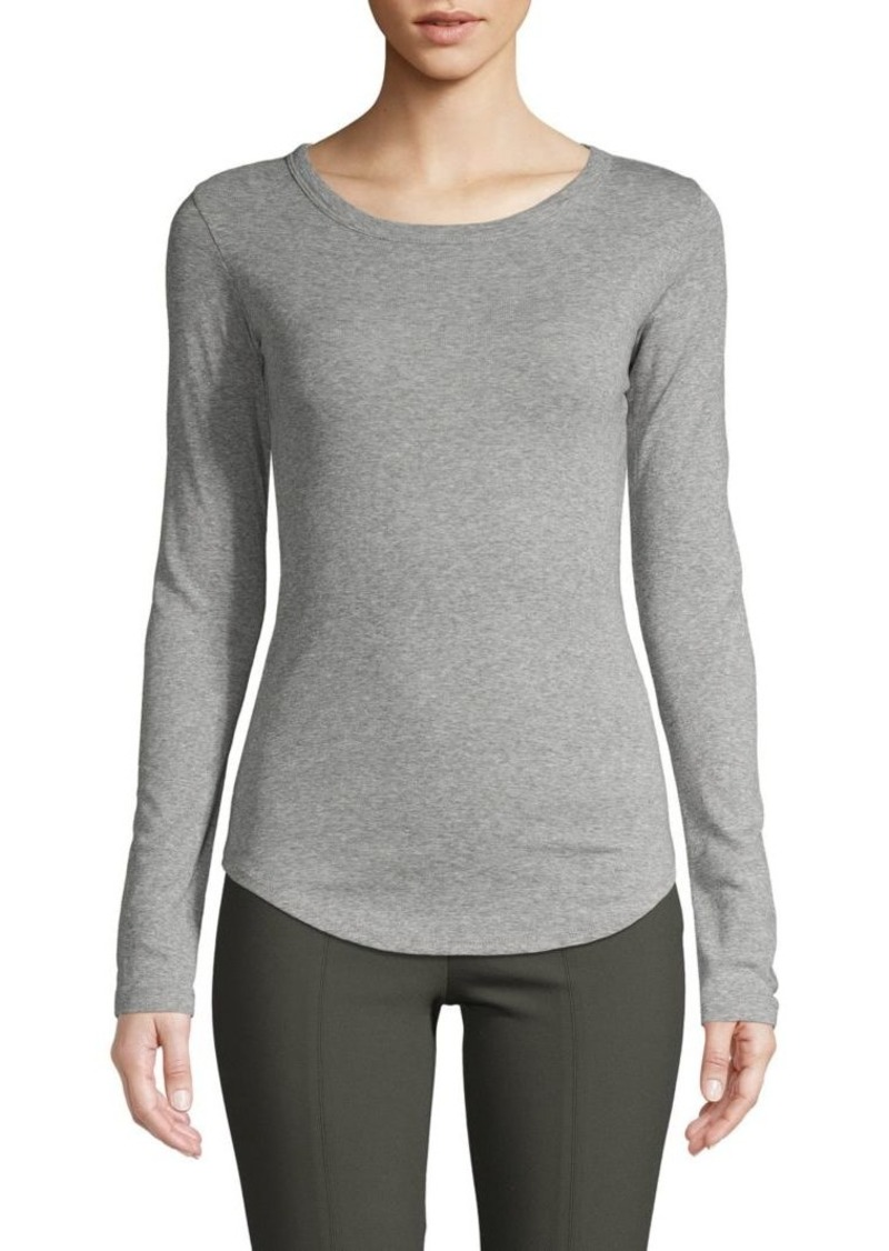 Vince Heathered Long Sleeve T-Shirt