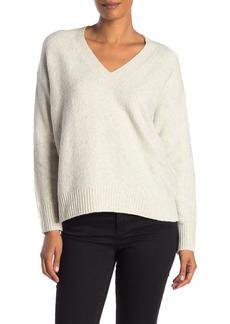 Vince Heathered V-Neck Dolman Sweater