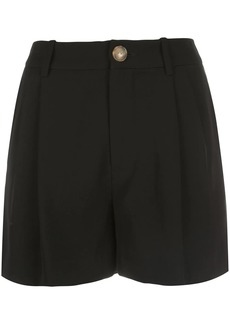 Vince high-rise pleated shorts
