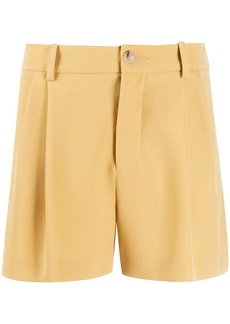 Vince high-waisted tailored-style shorts