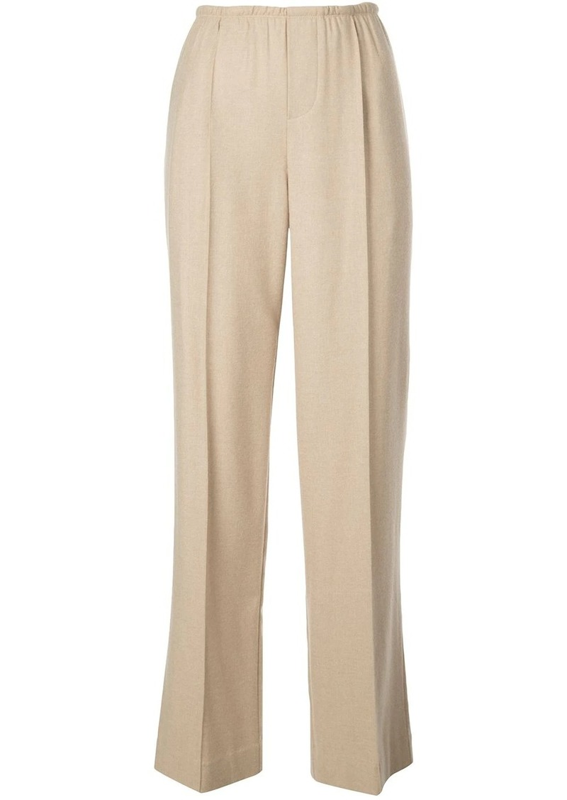 Vince high-waisted wide trousers